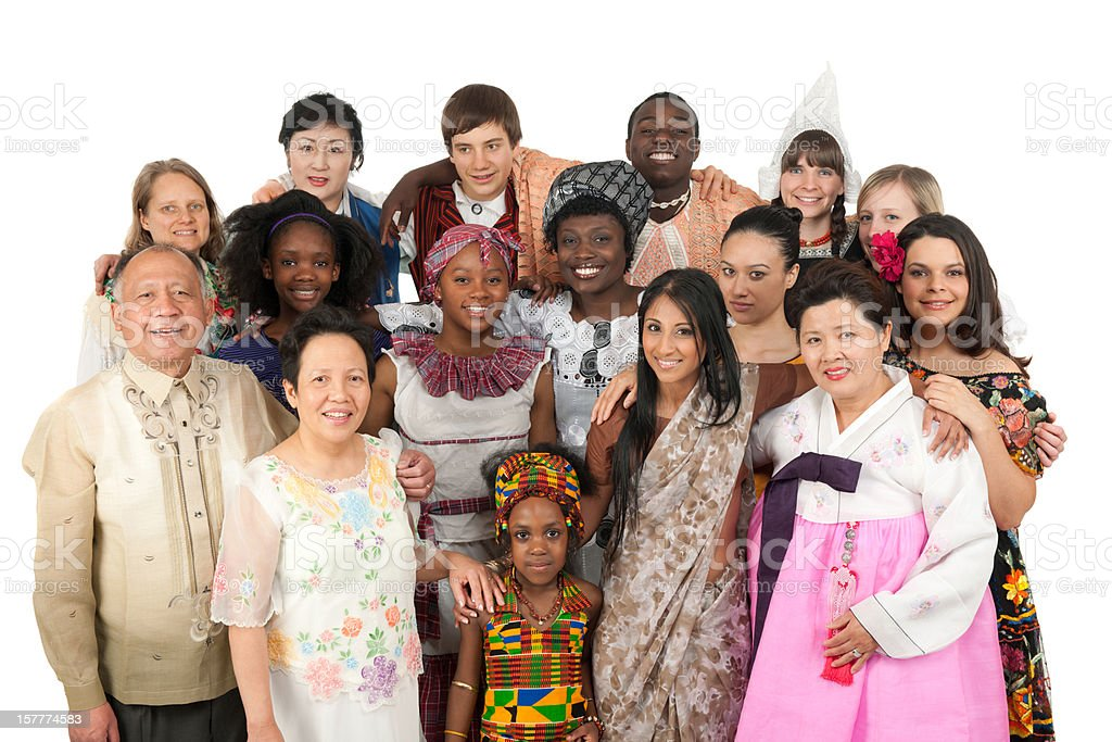 Ethnic Clothing stock photo