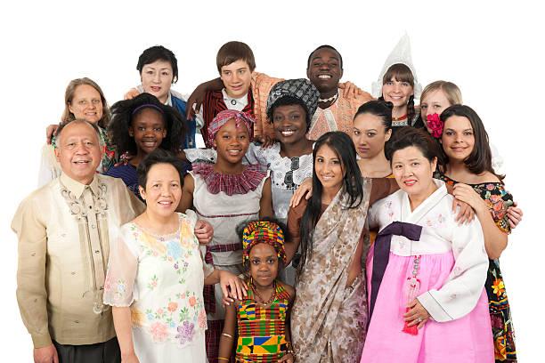 Ethnic Clothing stock photo