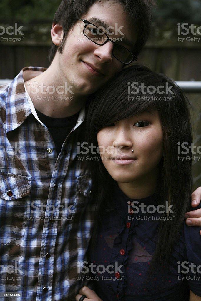 Ethnic Couple Portrait royalty-free stock photo