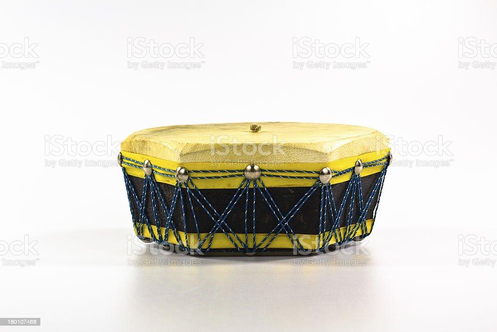 ethnic drum stock photo
