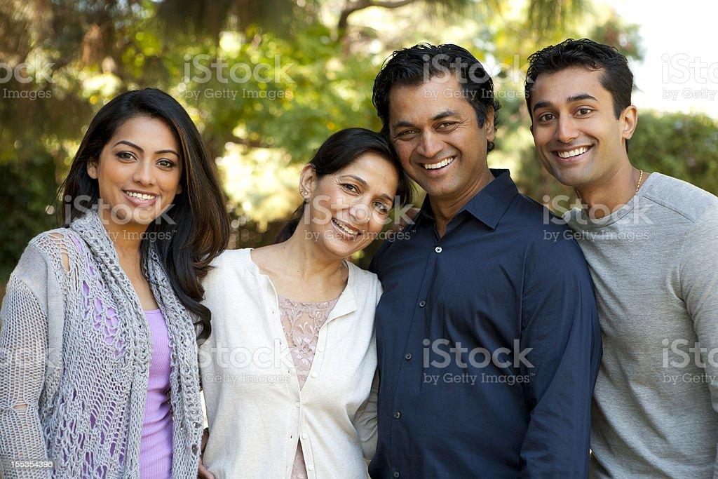 Ethnic Family stock photo