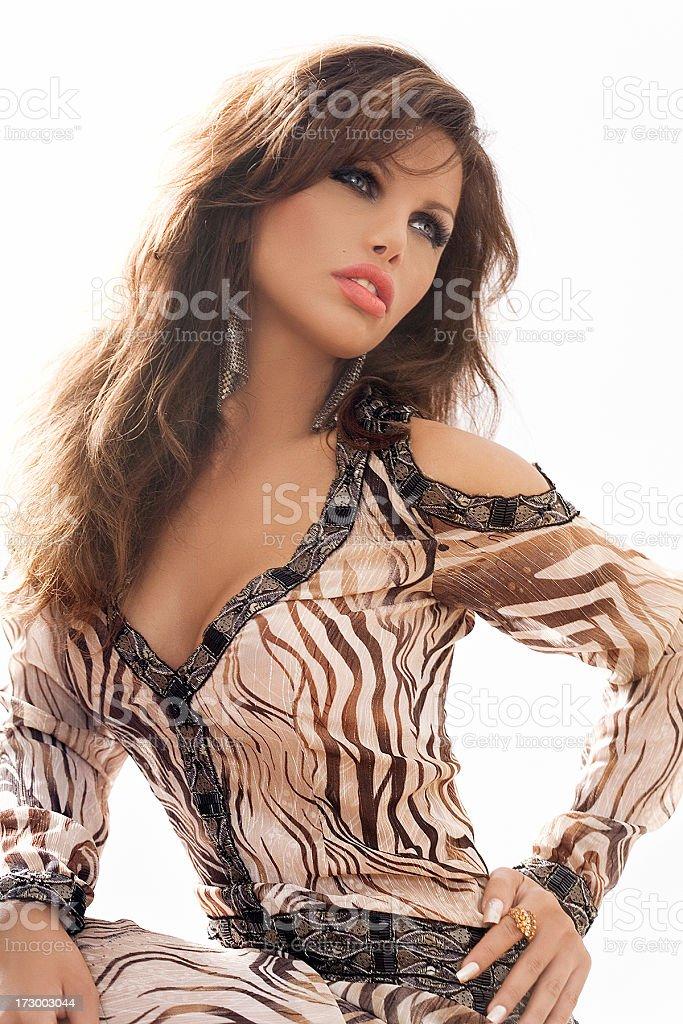 Ethnic Fashion royalty-free stock photo