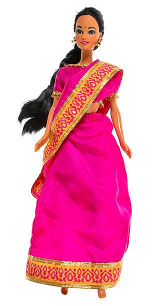ethnische indianer barbie puppe fashon - barbiekleidung stock-fotos und bilder