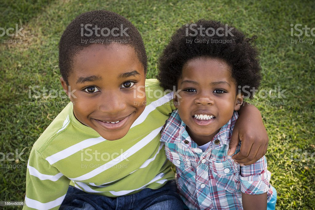 Ethnic Kids royalty-free stock photo
