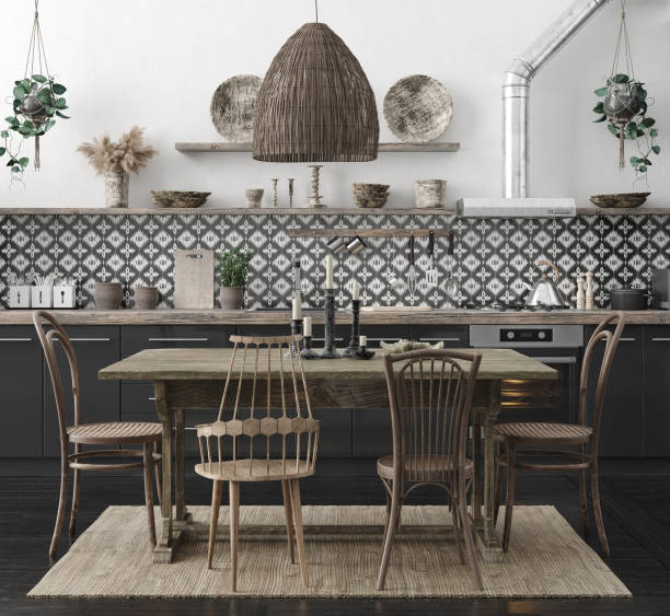 527 Boho Kitchen Stock Photos Pictures Royalty Free Images Istock