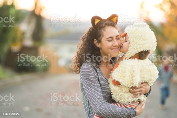 Ethnic mom trick or treating with her young son picture id1169655356?b=1&k=6&m=1169655356&s=612x612&h=0pf2ycmgsiitvnpg1spw0oxazjlmvdrzxgu2agtbmbq=