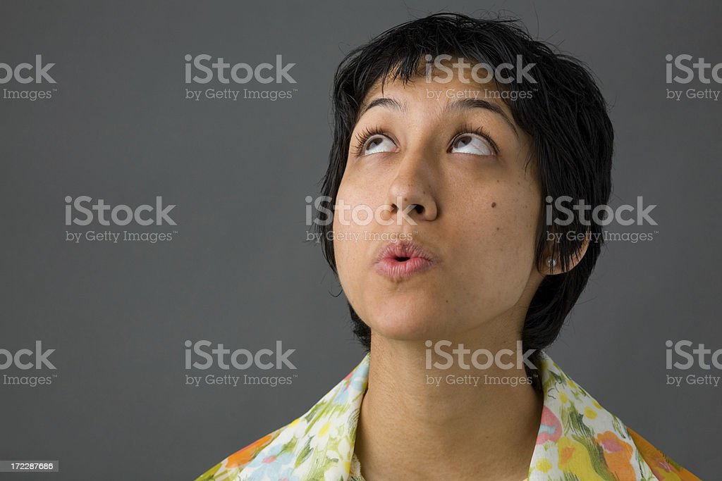 Ethnic Woman royalty-free stock photo