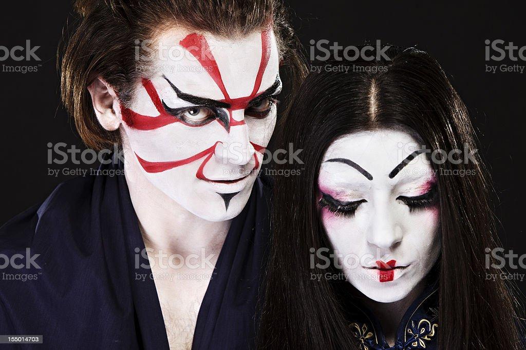 Ethnicities Shoot - Asian Couple stock photo
