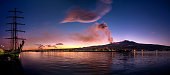 istock Etna eruption viewed from the sea 1089141650