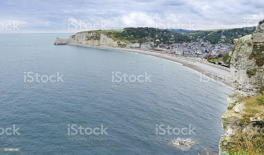 Etretat, France, Normandy royalty-free stock photo