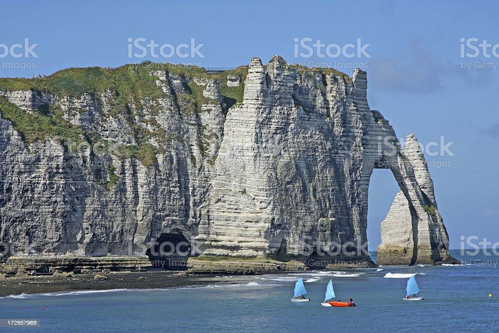 Etretat, Normandy, France # 2 XL stock photo