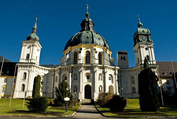 Ettal abbey in Bavaria stock photo
