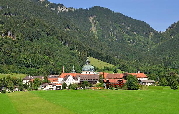 Kloster Ettal, Oberbayern, Deutschland – Foto