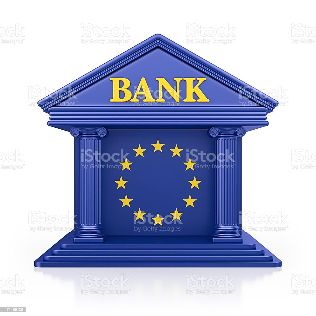 eu bank royalty-free stock photo