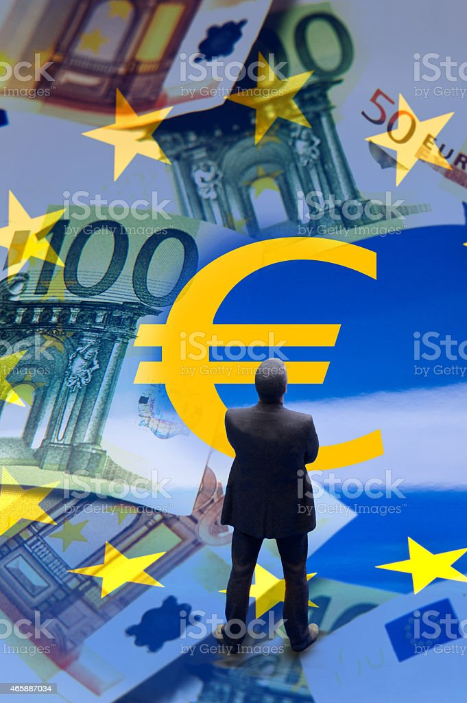 eu geld euro stock photo