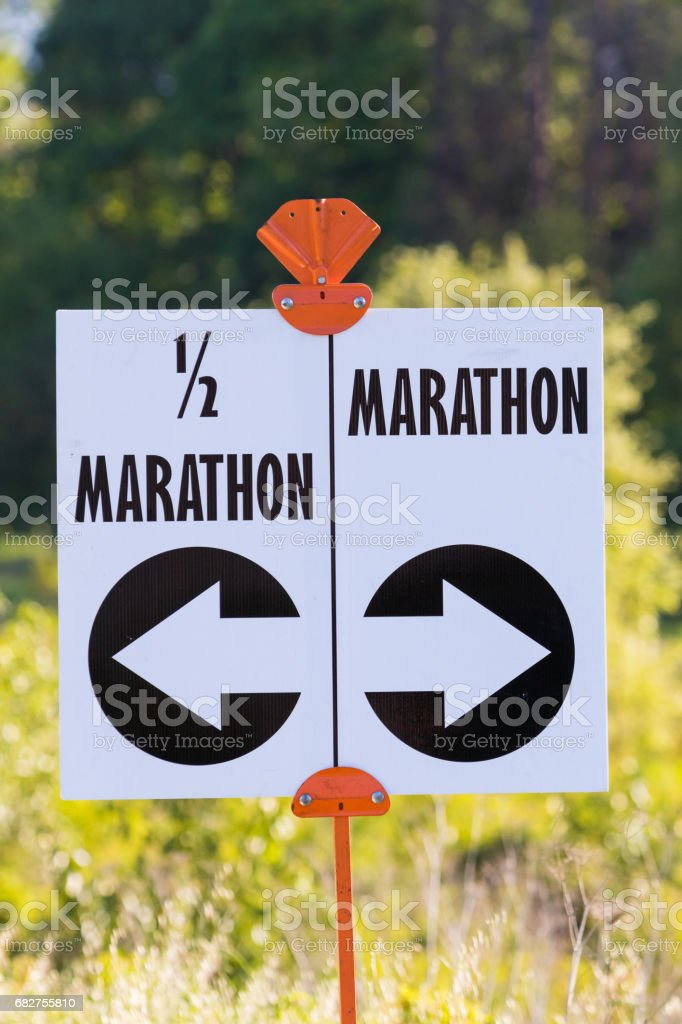 2017 Eugene Marathon Race stock photo