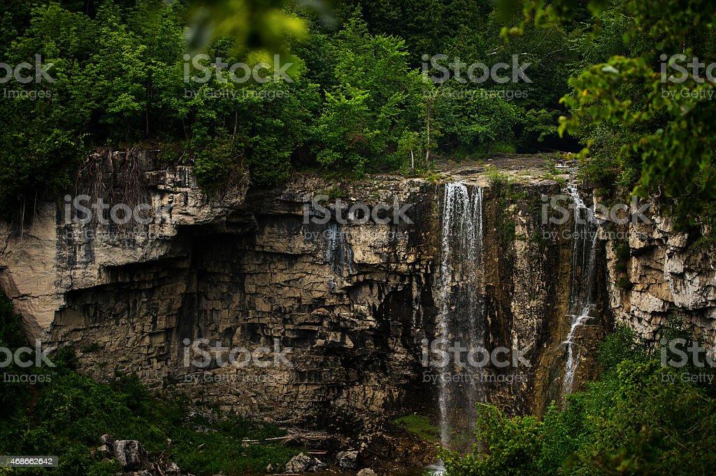 Eugenia Falls, Collingwood Ontario Canada stock photo