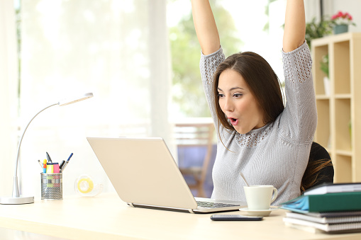 Excited stock photos