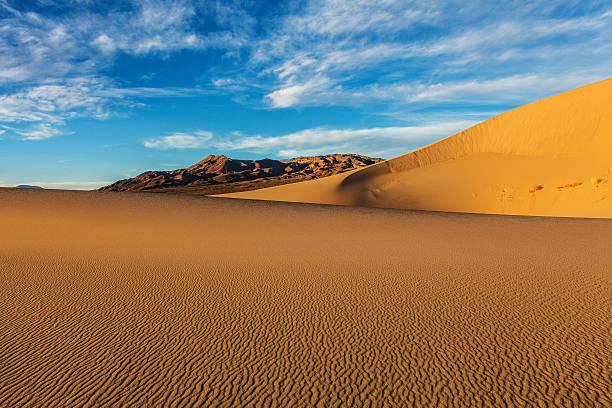 Eureka Sand Dunes stock photo