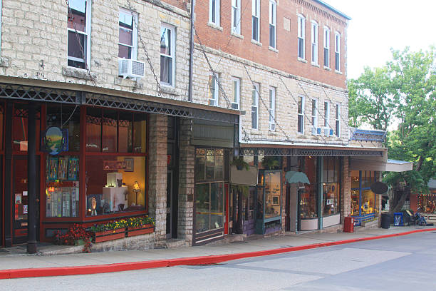 Eureka Springs, Arkansas stock photo