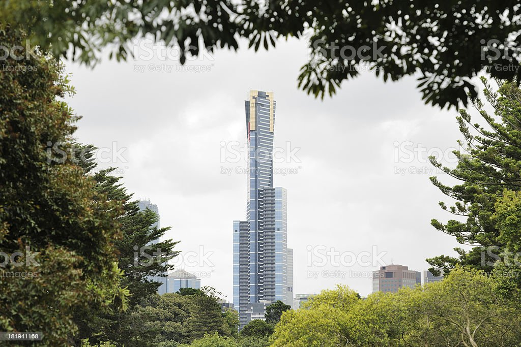 Eureka Tower, Melbourne, Australia (XXXL) stock photo