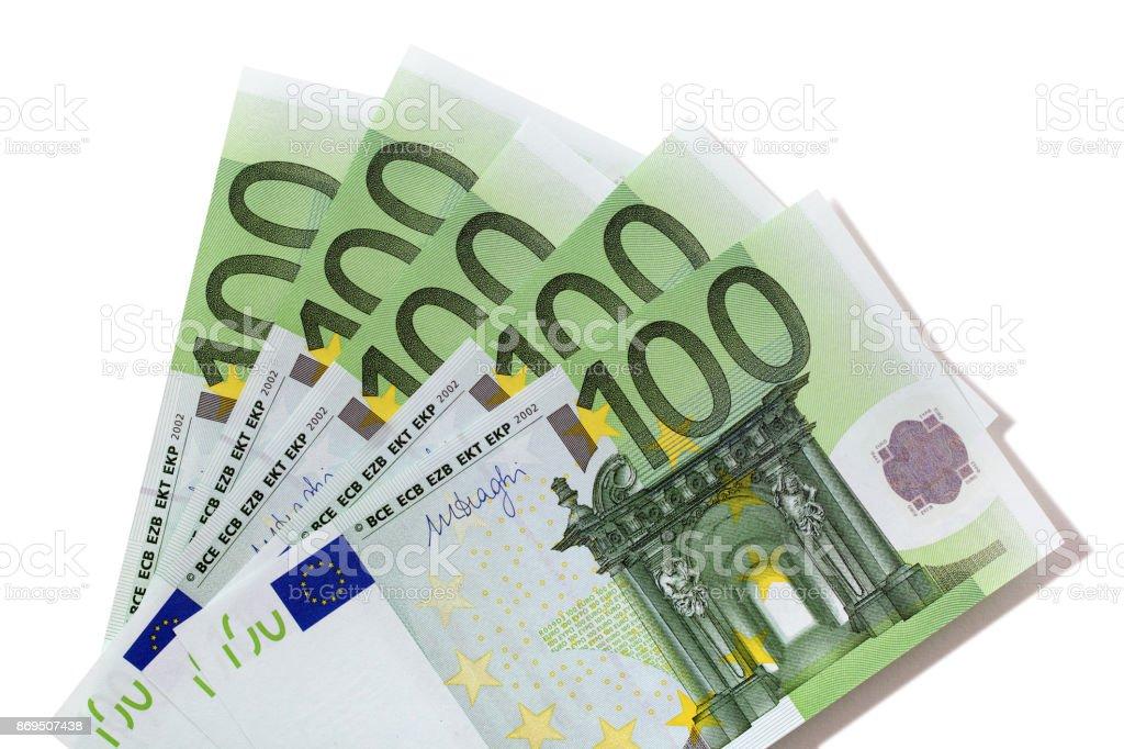 100 Euro Scheine – Foto