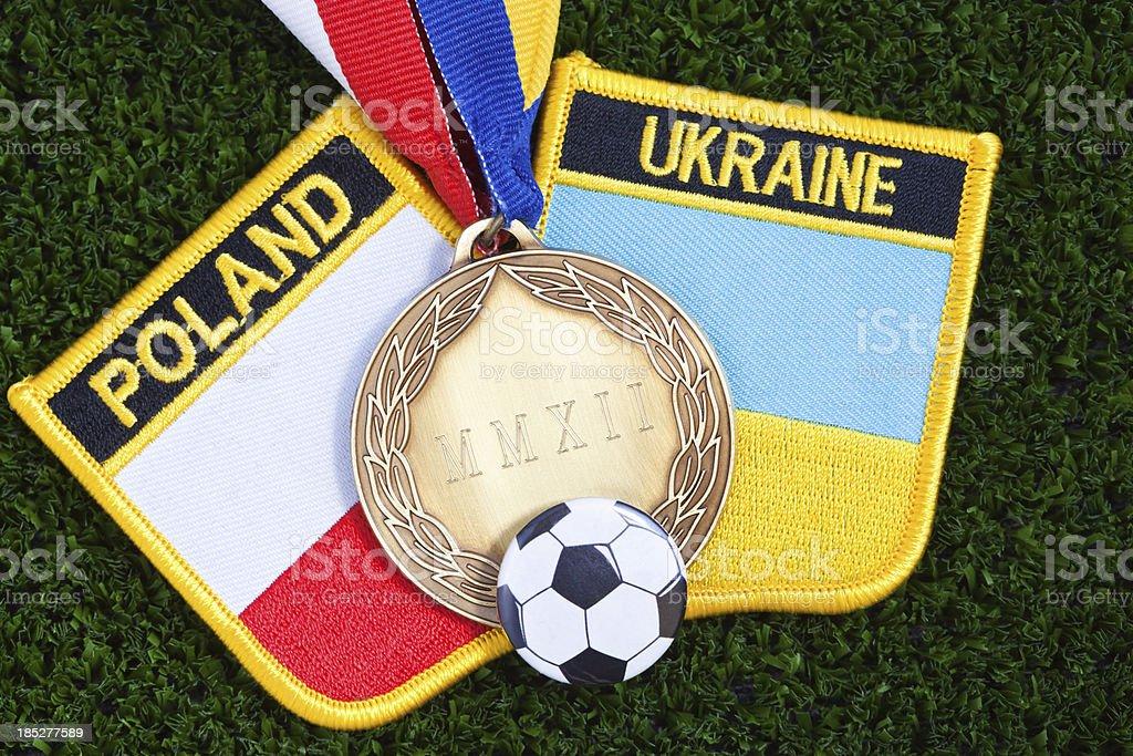 Euro 2012 Football Championship stock photo
