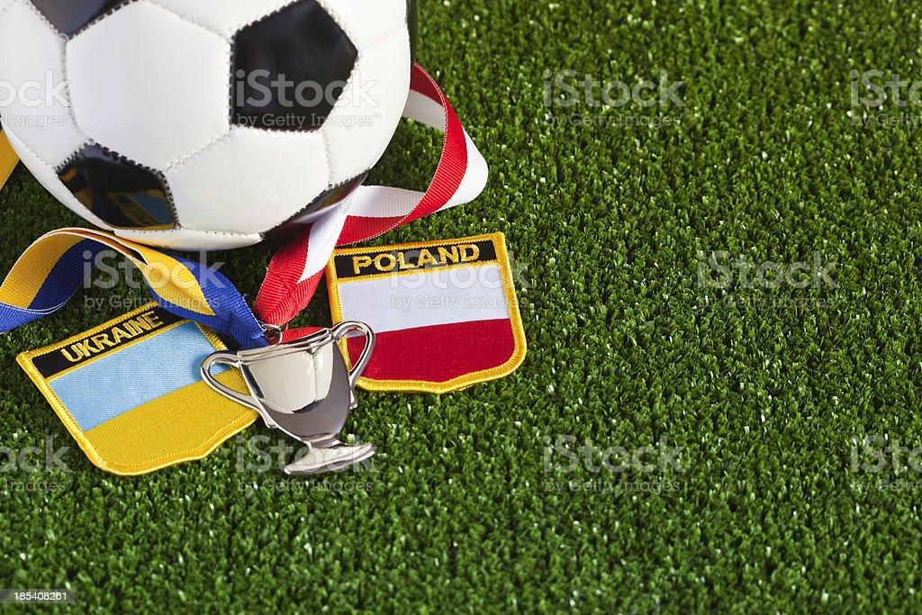Euro 2012 Football Championship royalty-free stock photo