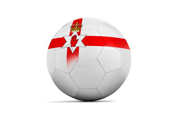 Euro 2016. Group C, North Ireland stock photo