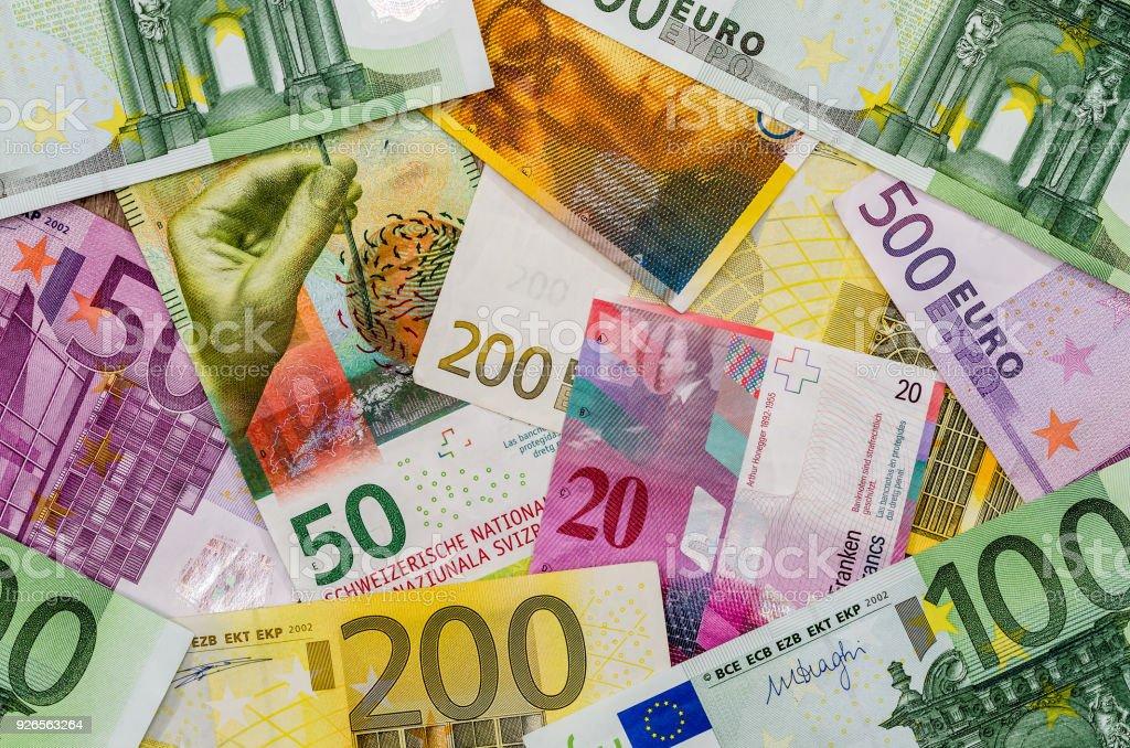 geld wechseln schweizer franken euro