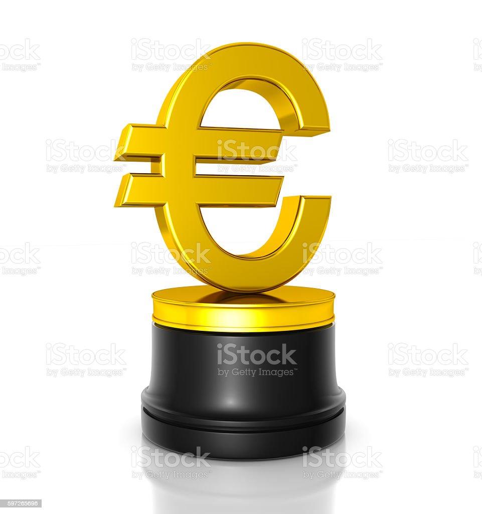 Euro Prämie Lizenzfreies stock-foto