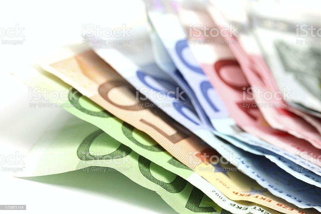 Euro Background royalty-free stock photo