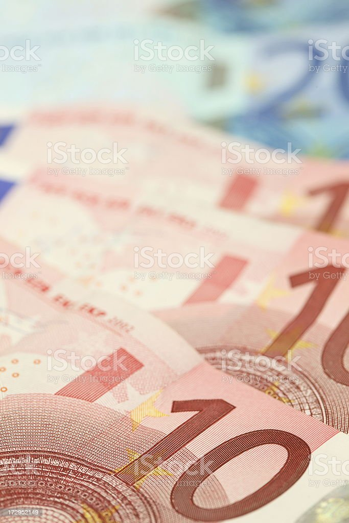 Euro Background royalty-free stock photo
