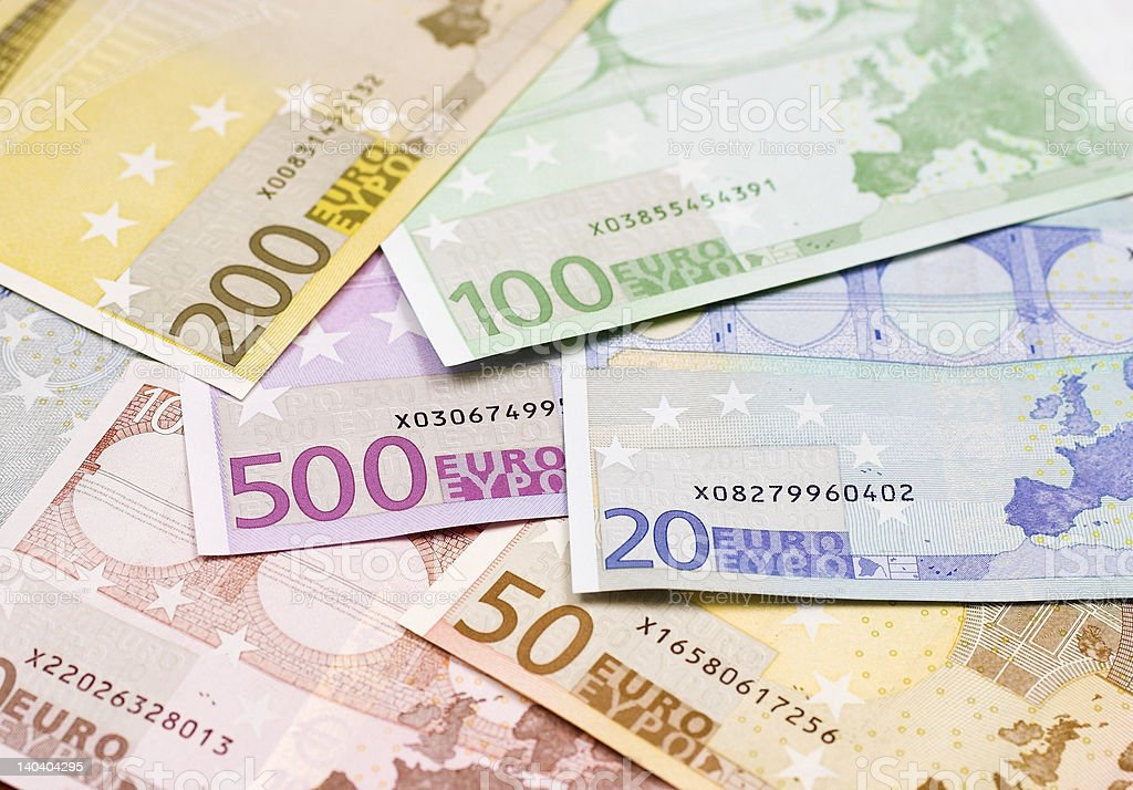euro bank note royalty-free stock photo