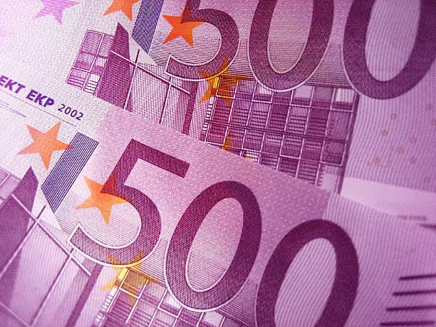 500 Euro-Banknoten – Foto