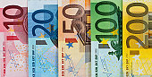 istock Euro bank notes currency 157594064