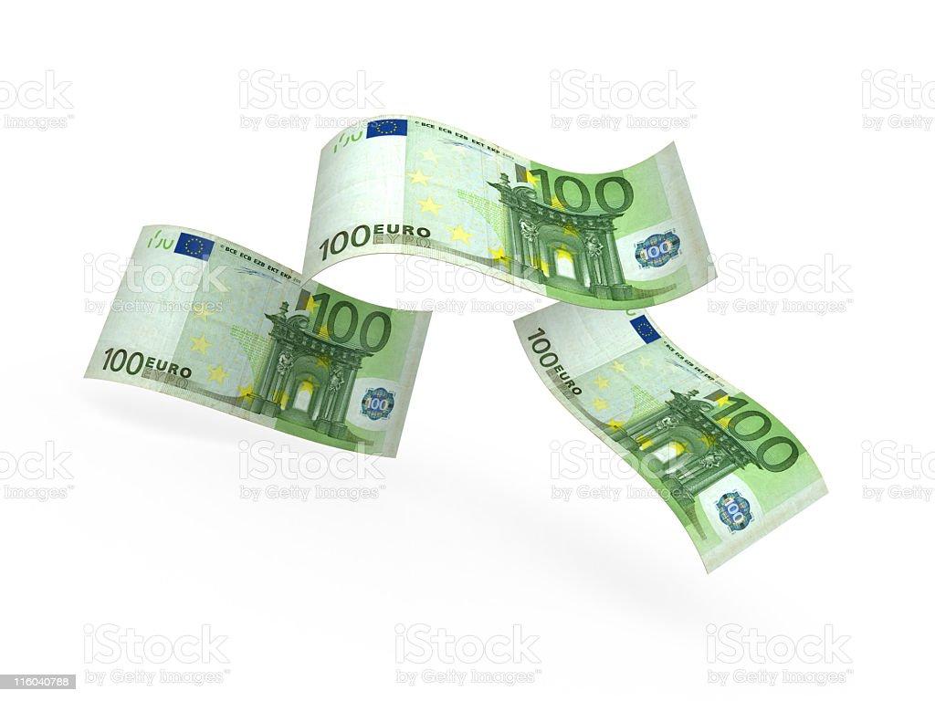 euro banknonetes royalty-free stock photo