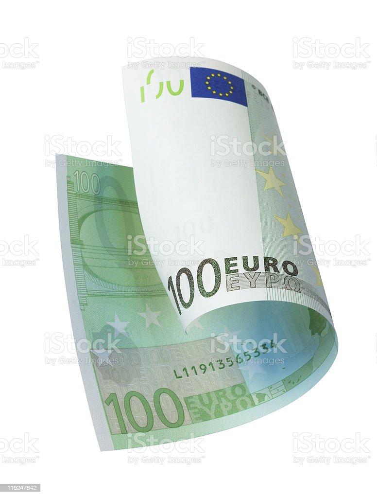 Euro Banknote stock photo