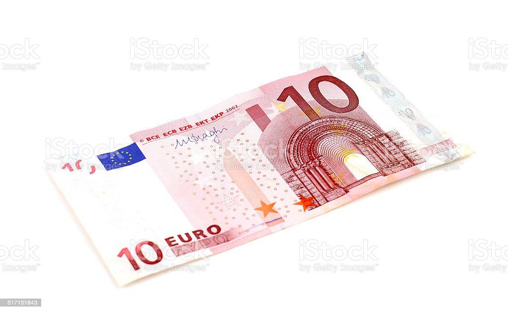 Euro banknote – Foto