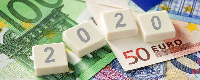 istock Euro banknotes and symbolic 2020 1199024235