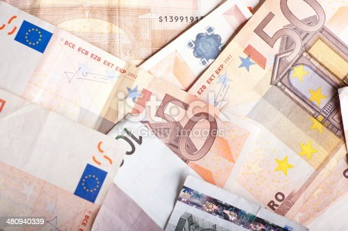 istock Euro Banknotes 480940339