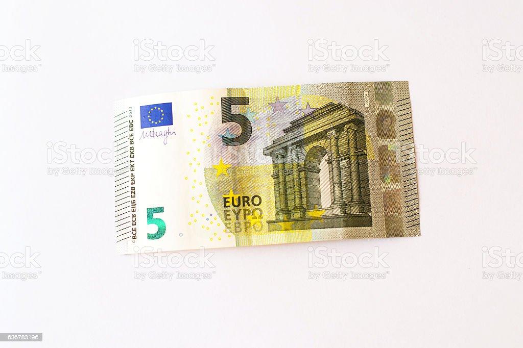 5 Euro banknotes – Foto