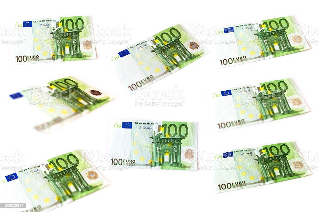 100 Euro banknotes set – Foto