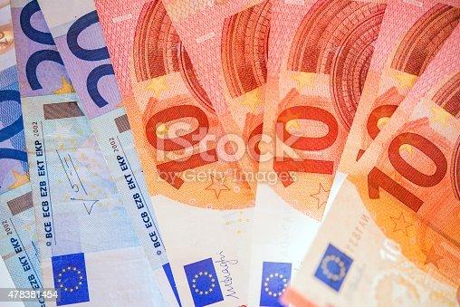 istock Euro Bills European Currency 478381454