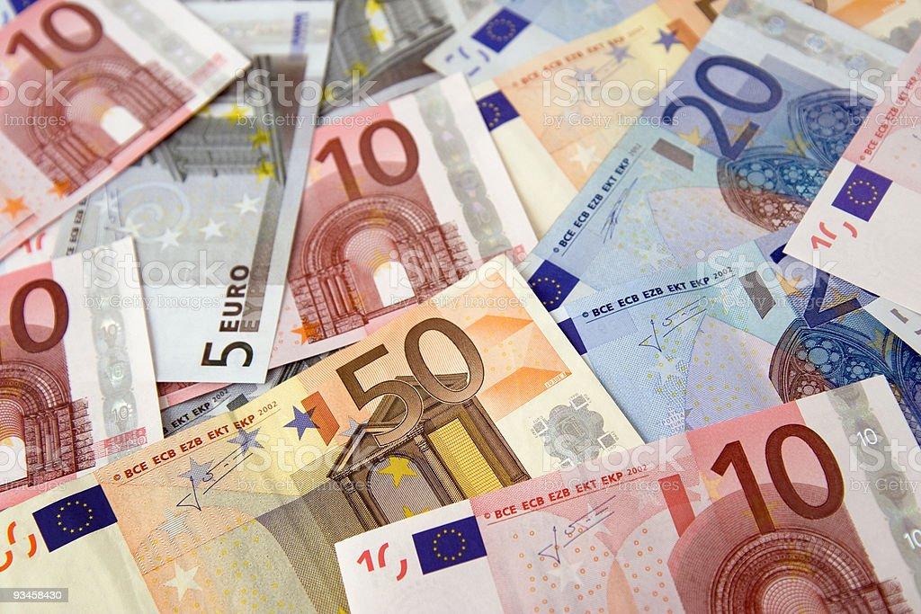Euro de factures - Photo