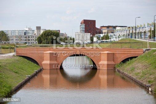 istock Euro bridge in Spijkenisse, The Netherlands 459232641