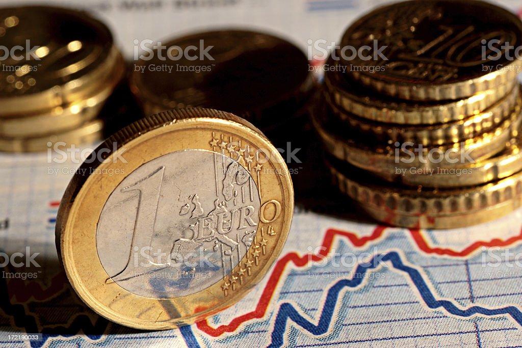 Euro Business stock photo