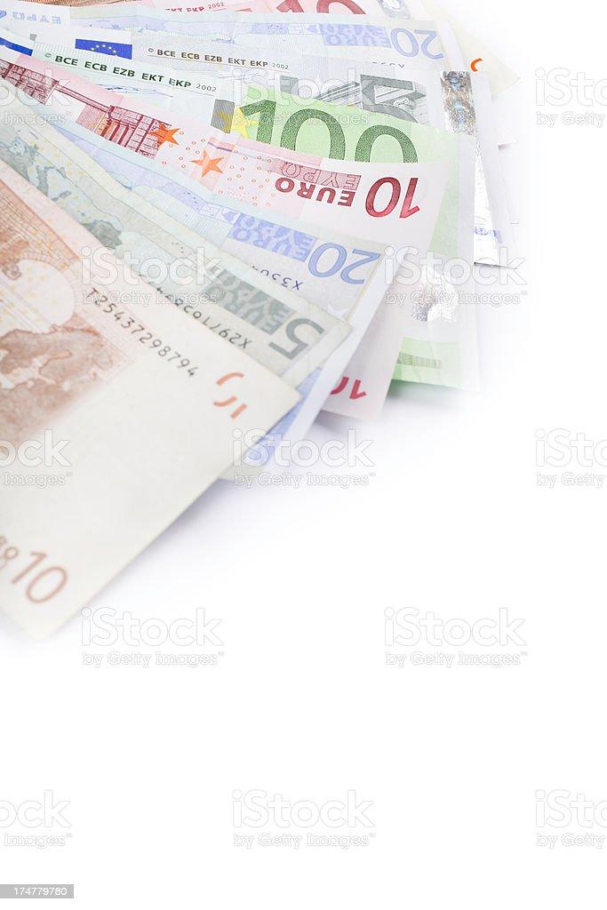 euro cash royalty-free stock photo