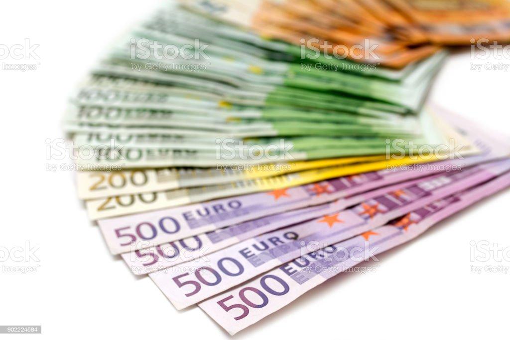 Euro cash stock photo