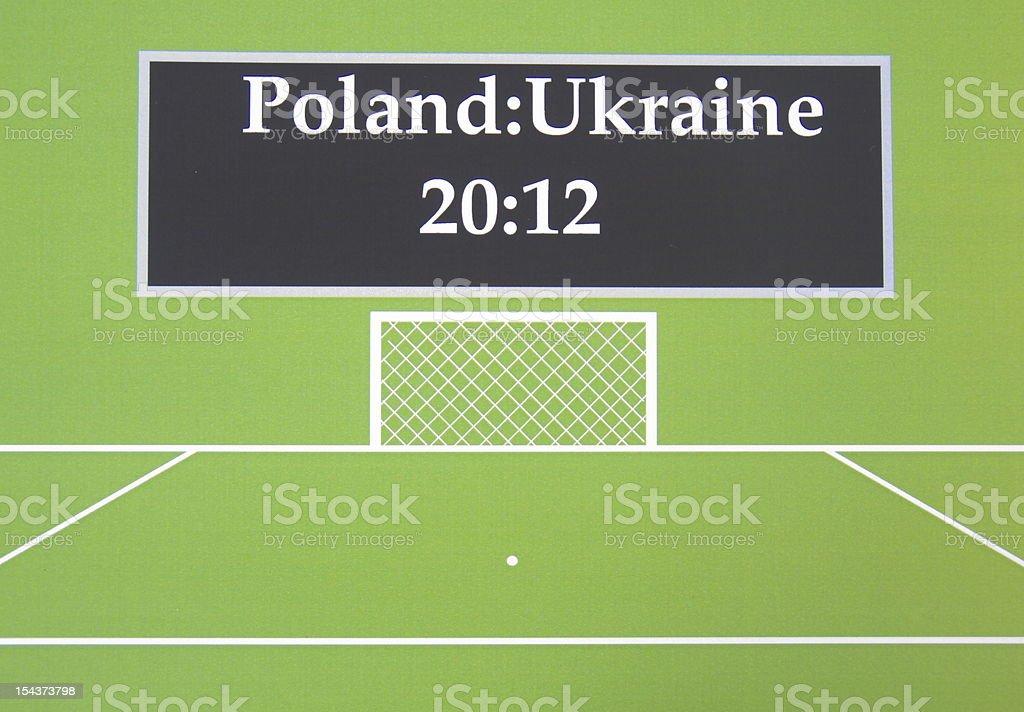 Euro Championship stock photo